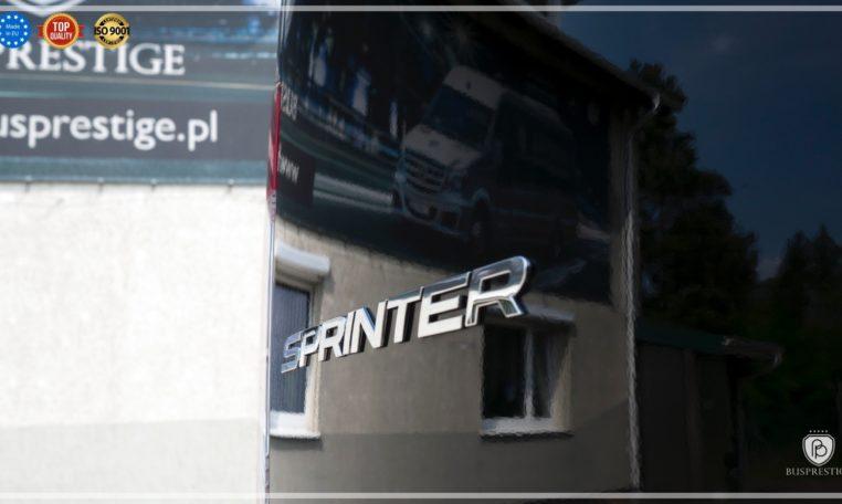 Mercedes Luxury Sprinter Bus Black Edition