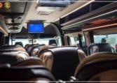 Mercedes Luxury Sprinter Bus Inside View
