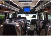 Mercedes Luxury Sprinter Bus Passenger Interior