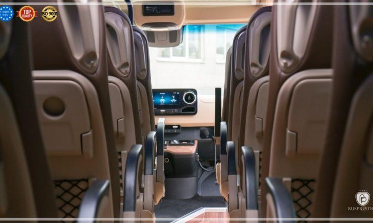 Mercedes Luxury Sprinter Bus view