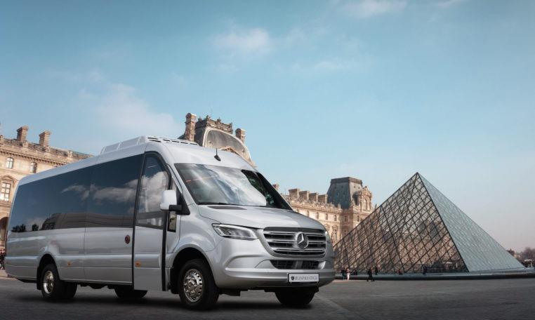 Mercedes Sprinter bus in version BP.Tourist made by Busprestige