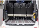 mercedes bus seats with nimi system