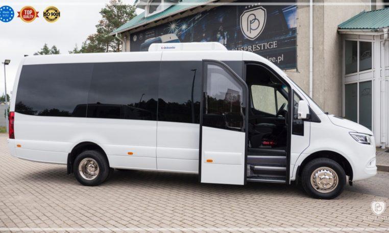 mercedes bus entry powered door