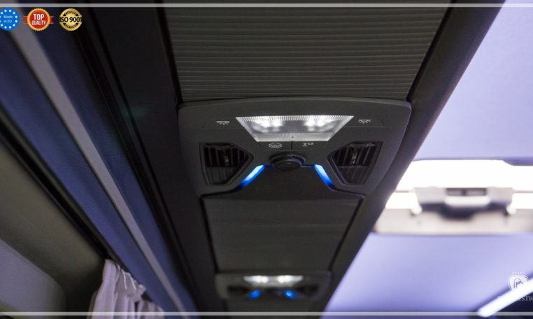 mercedes bus luggage lamps