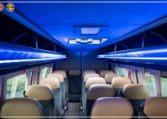 mercedes bus roof led lights